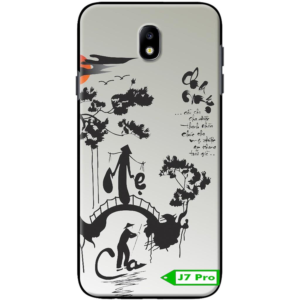 Ốp lưng Samsung J7 Pro – Cha Mẹ Thư Pháp
