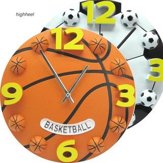 Đồng hồ treo tường hình quả bóng rổ sáng tạo