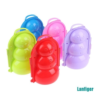 【Lanfiger】Outdoor Winter Snowman model Snowball Maker Snowman Maker Clip Toy for Children