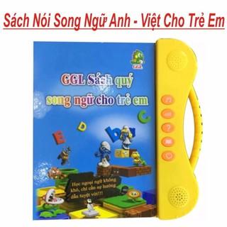 [RẺ VÔ ĐỊCH] Sách Nói Điện Tử Song Ngữ Anh- Việt Giúp Trẻ Học Tốt Tiếng Anh (Hàng loại 1 có video)
