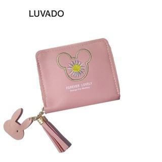 Ví nữ mini cute đẹp cầm tay MADLEY thời trang cao cấp nhỏ gọn bỏ túi LUVADO VD491 thumbnail