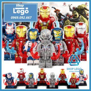 Xếp hình Biệt đội Avengers Age of Ultron mới nhất 2020 Iron Man Lego Minifigures Xinh X0267 thumbnail