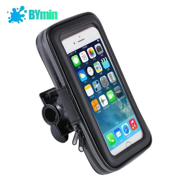 Set giá để điện thoại chống thấm nước gắn xe máy/xe đạp kèm phụ kiện tiện dụng