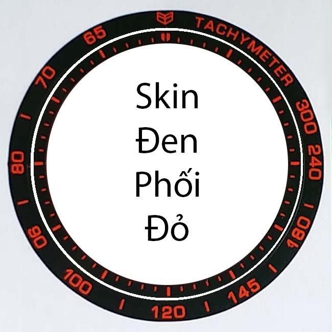 [COMBO 4 MÀU] Skin decal dán vòng bezel cho Samsung Gear S3