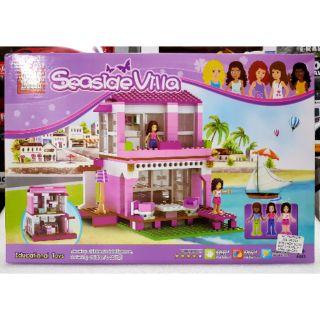 Hộp lắp ráp villa bãi biển