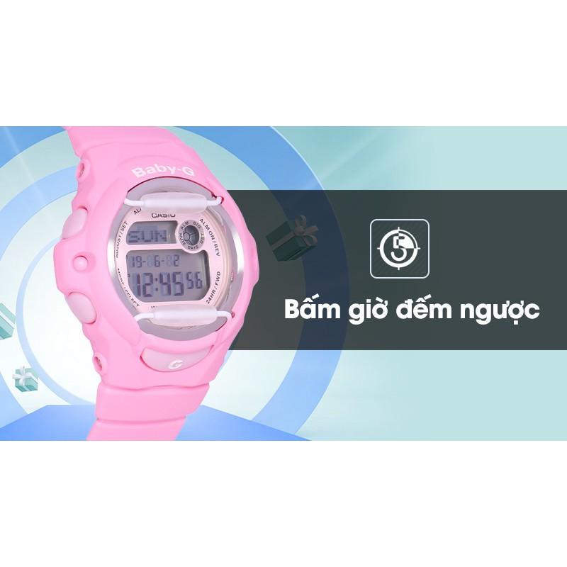Đồng hồ Nữ Baby-G BG-169R-4CDR - quartz - đồng hồ đại chúng