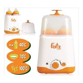 Máy hâm sữa và tiệt trùng Fatz Baby 2 bình cổ rộng thế hệ mới FB3012SL- Bảo hành 12 tháng thumbnail