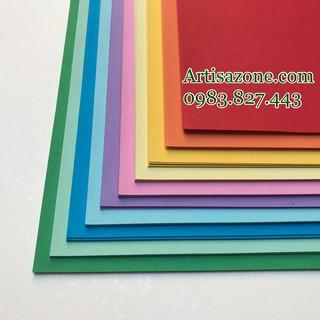 Giấy Origami màu; kích thước 20cm x 20cm; 100 tờ; 10 màu