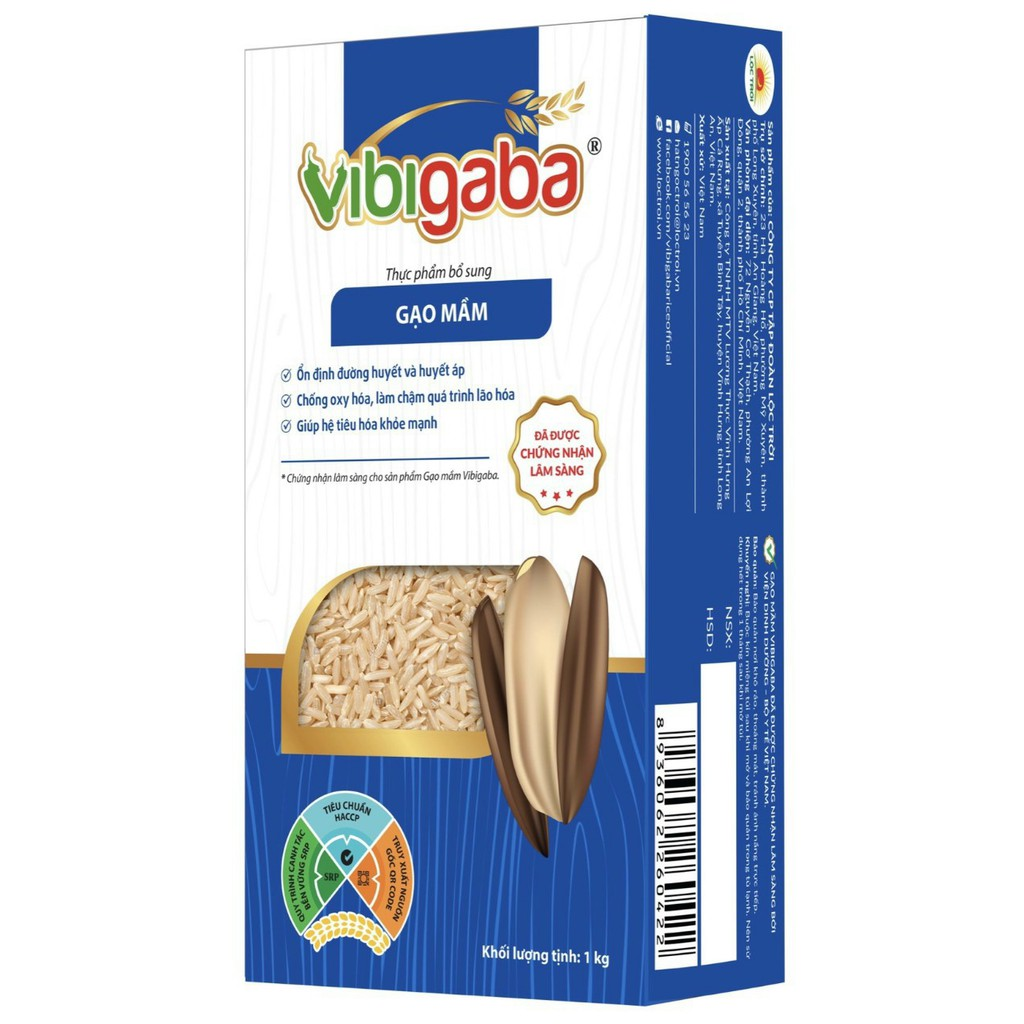 Gạo Mầm Vibigaba 1Kg - Bán lẻ giá sỉ
