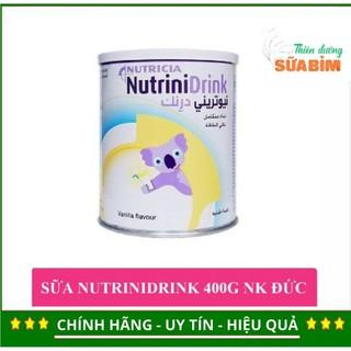 [TẶNG kèm 2gói 30.5g] Sữa Bột Nutricia NutriniDrink Hương Vanilla Hộp 400g -Tăng cân trong vòng 28 ngày
