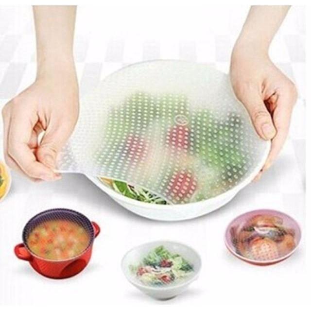 màng bọc thực phẩm silicon cao cấp stretch and fresh