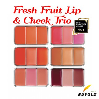 SKINFOOD Fresh Fruit Lip & Cheek Trio thumbnail