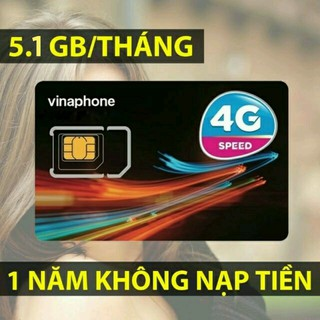 Sim VINAPHONE MIỄN PHÍ 5,1GB TỐC ĐỘ CAO 1 THÁNG