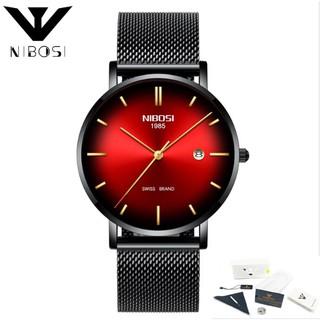 Đồng hồ Nibosi nam 2362 fullbox (đen đen đỏ) thumbnail