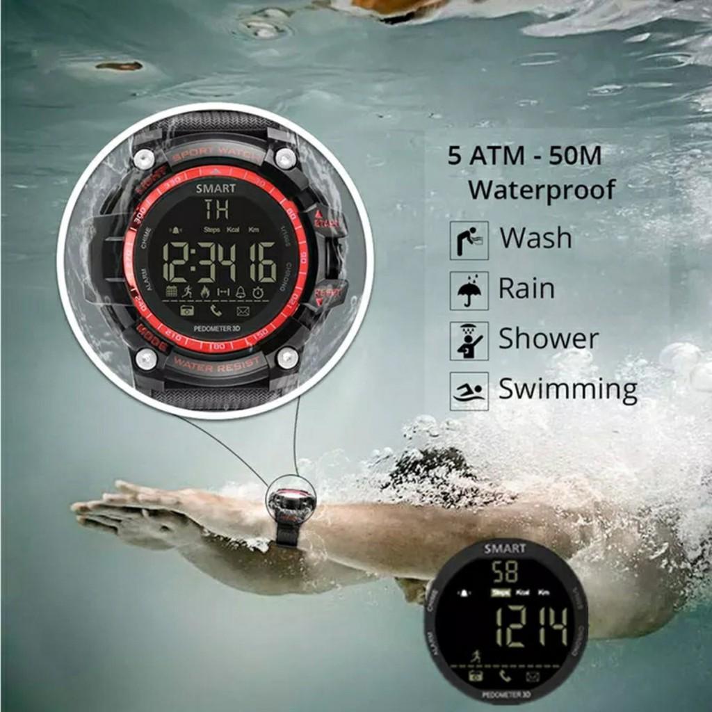 Đồng Hồ Thông Minh Smartwatch X30 Dáng Thể Thao - Pin 12 Tháng - Chống Sốc - Nước IP67 - Thông Báo Cuộc Gọi, SMS