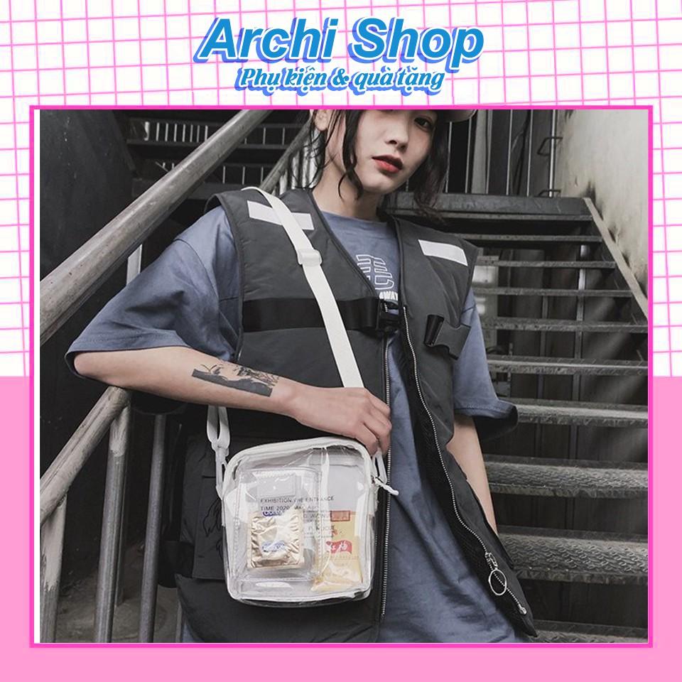 Túi đeo chéo trong suốt Kpop MIRROR