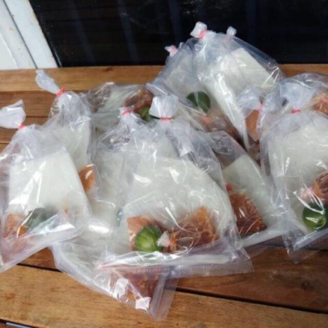 Bánh tráng tây ninh kèm tắc ( combo 10 bịch)
