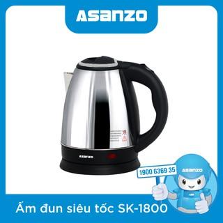 Ấm siêu tốc Asanzo SK-1800