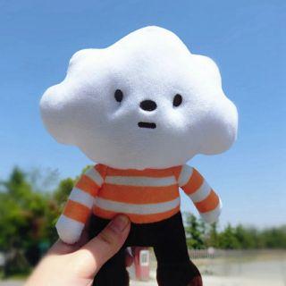 Gấu bông đám mây Mr. Yun Mr. White Cloud fluffy house loại lớn