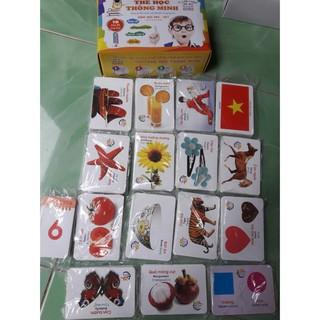 [đồ chơi an toàn] Thẻ học thông minh 16 chủ đề – 416 thẻ học cho bé