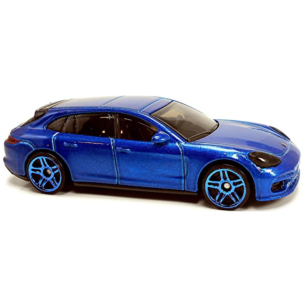 (Không hộp) Xe mô hình Hot Wheels Porsche Panamera Turbo S E-Hybrid Sport Turismo GHF19K