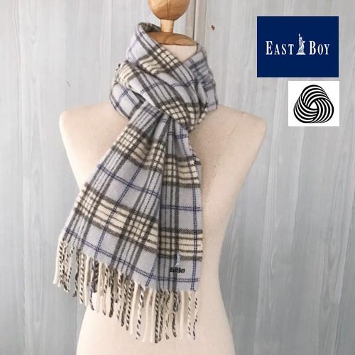 ผ้าพันคอ Lambswool 100% แบรนด์ EAST BOY