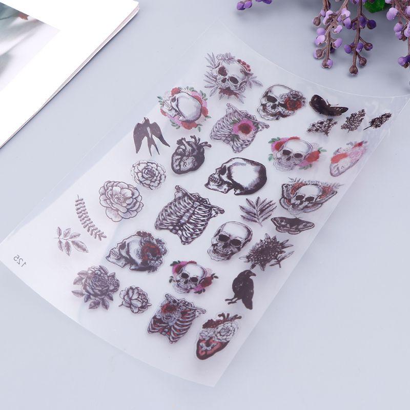 Đề can chất liệu PVC họa tiết xinh xắn dùng trang trí tập /sách độc đáo