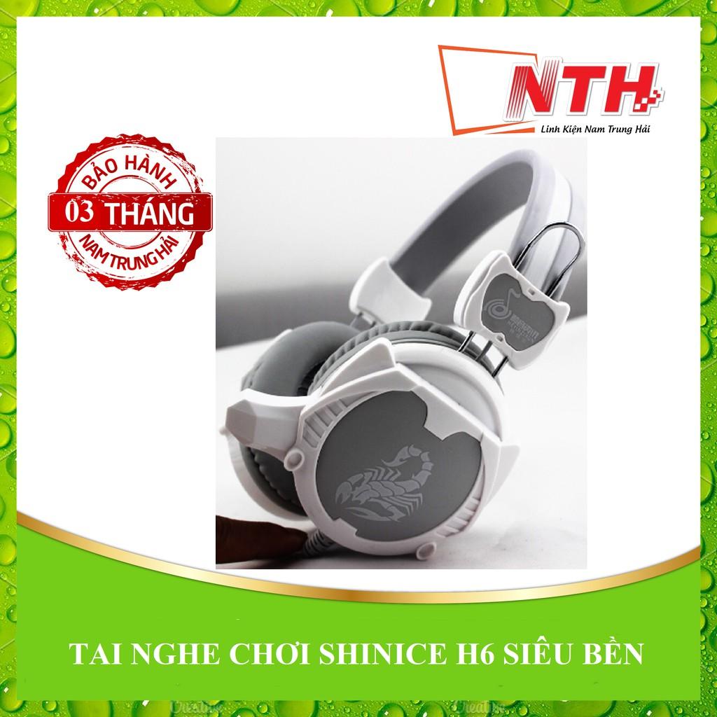 [NTH] Tai nghe chơi game SHINICE H6 màu siêu bền