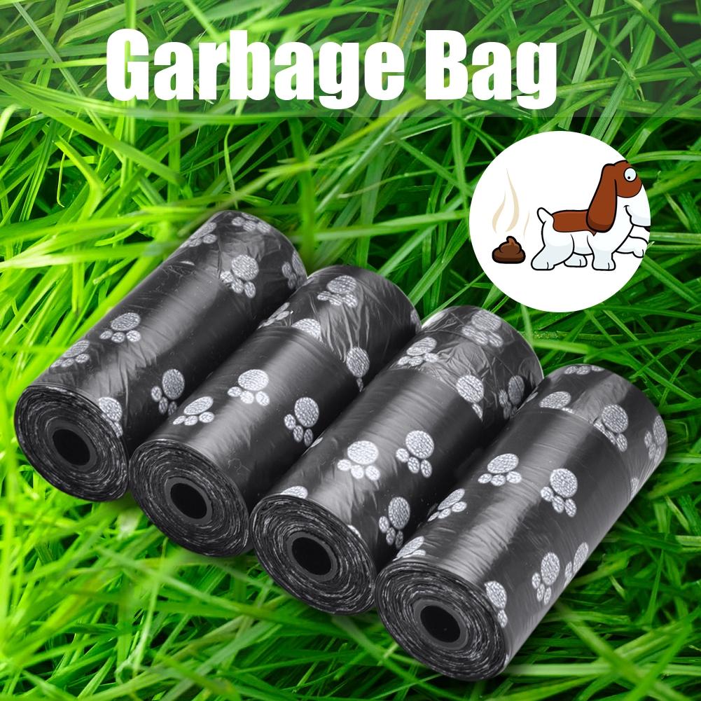 10 cuộn túi rác dọn vệ sinh cho thú cưng