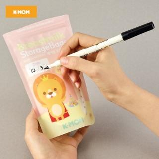 Túi trữ sữa K-Mom Hàn Quốc (bán lẻ)