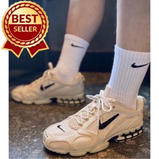 Tất/Vớ Nai ki thể thao cao cổ nam nữ siêu đẹp cotton100% XNXK khử mùi chuyên dùng:đá bóng,tennis,boxing