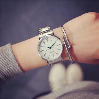 Đồng hồ cặp nam nữ Nary dây thép đặc không rỉ thumbnail