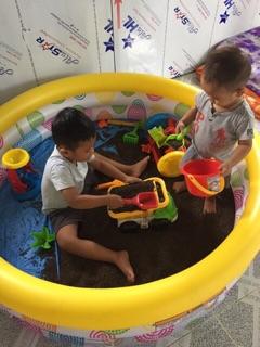 SẴN HÀNG- Hạt muồng muồng loại 1 đồ chơi xúc cát cho bé . LG11