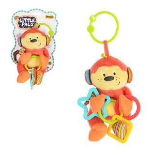 Đồ chơi thú bông xúc xắc treo cũi khỉ con 0119 - đồ chơi kích thích thị giác, tư duy màu sắc cho trẻ sơ sinh thumbnail