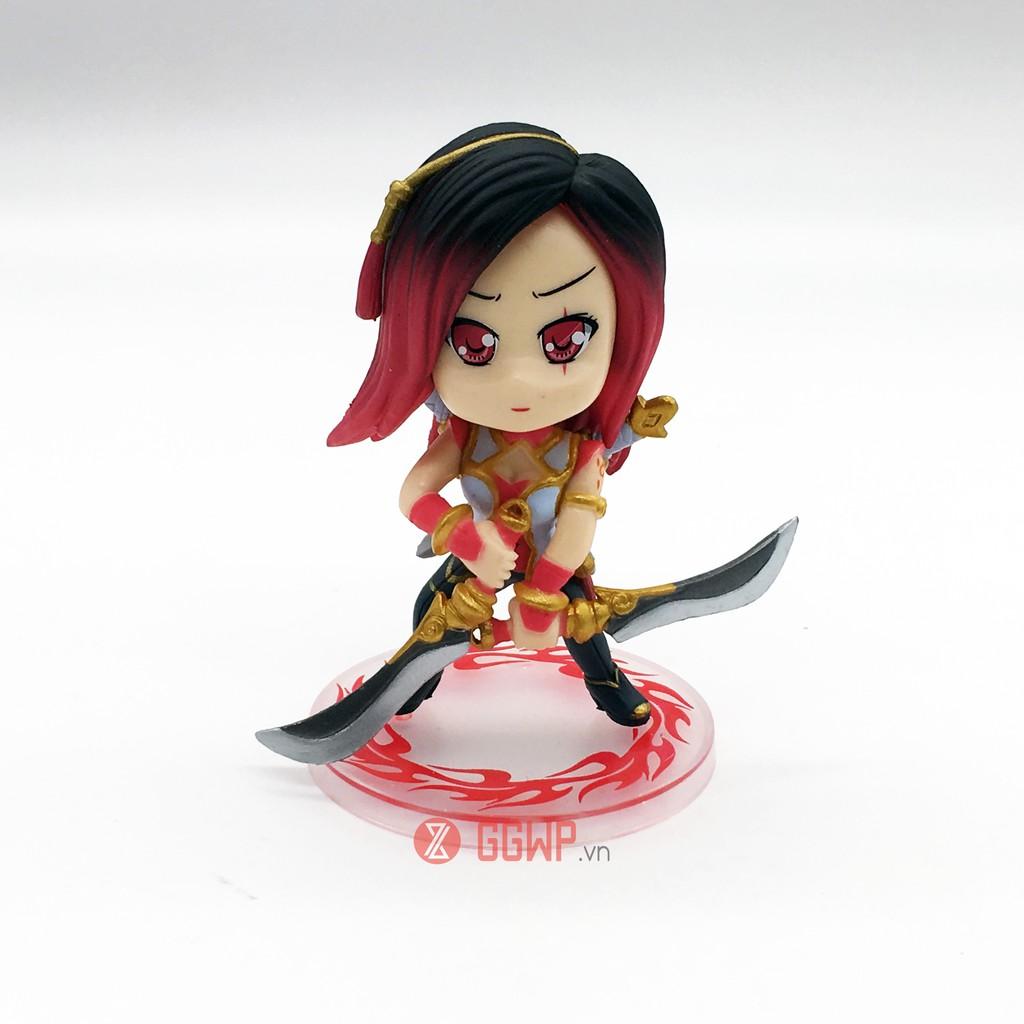 Mô hình Garen Chibi trang phục Huyết kiếm LOL (Liên minh huyền thoại)   Shopee Việt Nam