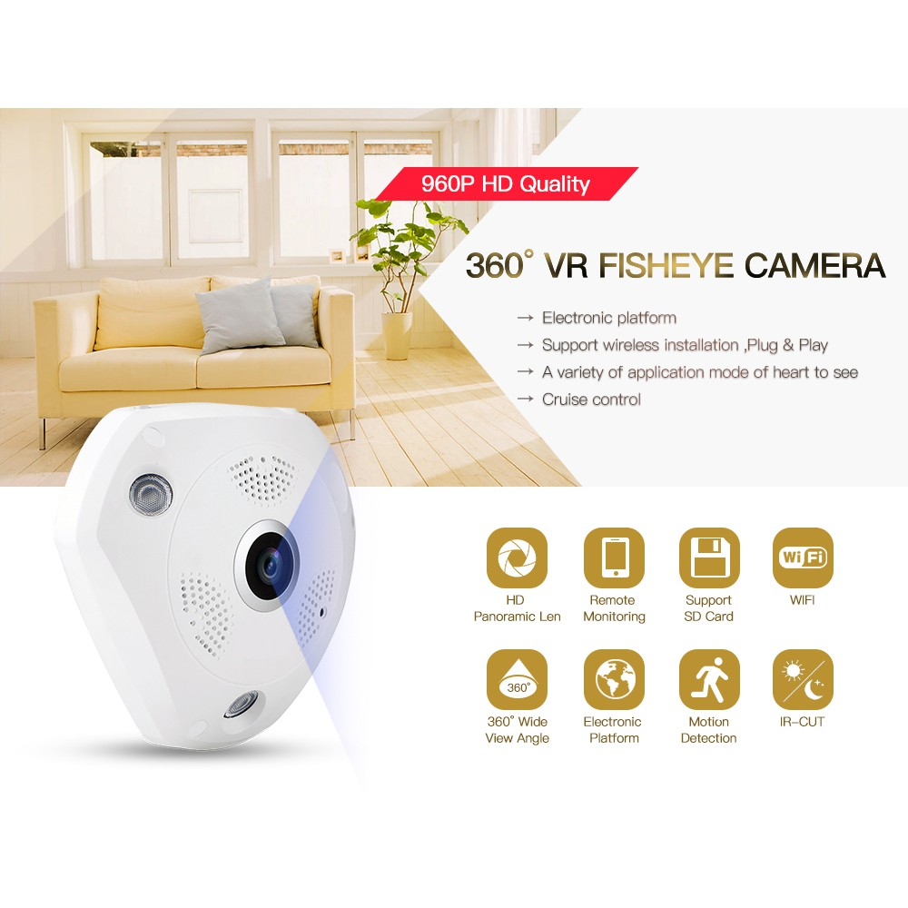 Camera VR Cam 3D 360 Dộ Fish Eye EIPFE13 IP Wifi ( Chưa Kèm Nguồn ) - 2638253 , 640152533 , 322_640152533 , 378900 , Camera-VR-Cam-3D-360-Do-Fish-Eye-EIPFE13-IP-Wifi-Chua-Kem-Nguon--322_640152533 , shopee.vn , Camera VR Cam 3D 360 Dộ Fish Eye EIPFE13 IP Wifi ( Chưa Kèm Nguồn )