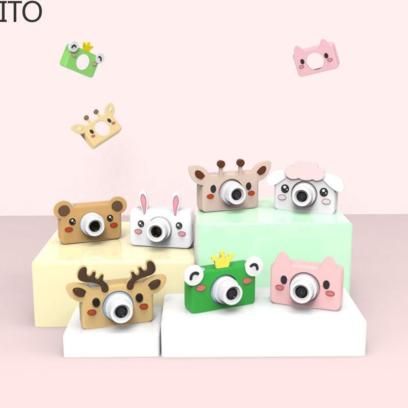 Máy quay phim kỹ thuật số hình động vật dễ thương