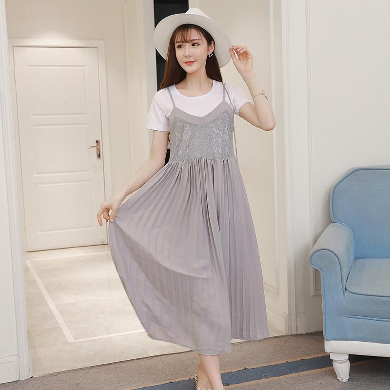 K147 Sét đầm bầu gồm áo phông trắng bên trong và váy hai dây bên ngoài - 2403992 , 1001424423 , 322_1001424423 , 280000 , K147-Set-dam-bau-gom-ao-phong-trang-ben-trong-va-vay-hai-day-ben-ngoai-322_1001424423 , shopee.vn , K147 Sét đầm bầu gồm áo phông trắng bên trong và váy hai dây bên ngoài