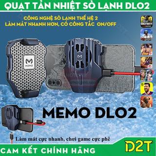 [PHIÊN BẢN MỚI] Quạt tản nhiệt gaming Memo DL02 , DL03 cho điện thoại, tản nhiệt sò lạnh siêu mát thumbnail