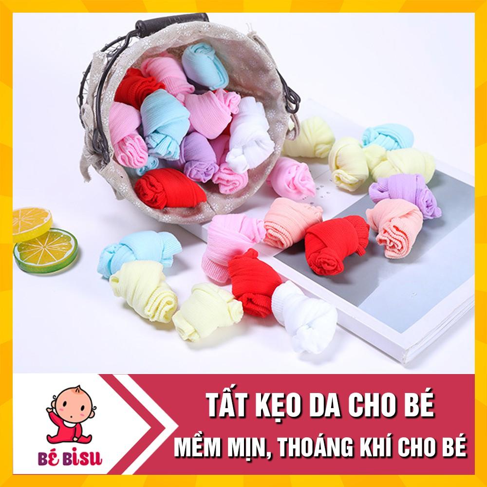 Set 5 Đôi Tất Kẹo Thoáng Khí Cho Bé 0- 3 Tuổi -Tất Da Cho Bé