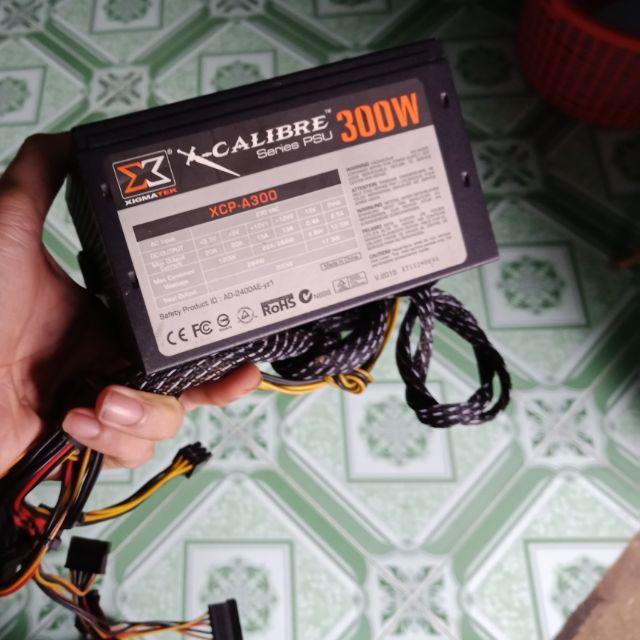 Nguồn Xigmatek 300w công suất thực Giá chỉ 100.000₫