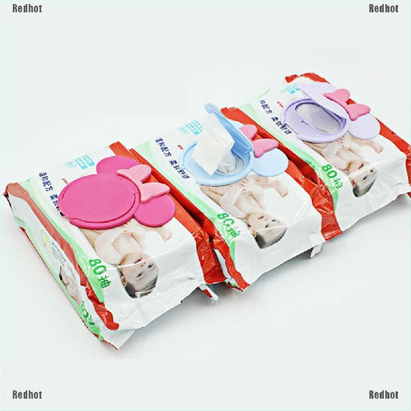 Redhot Infant Tissue Box Wet Paper lid Accessories Reusable Baby Wet Paper Wipes Lid