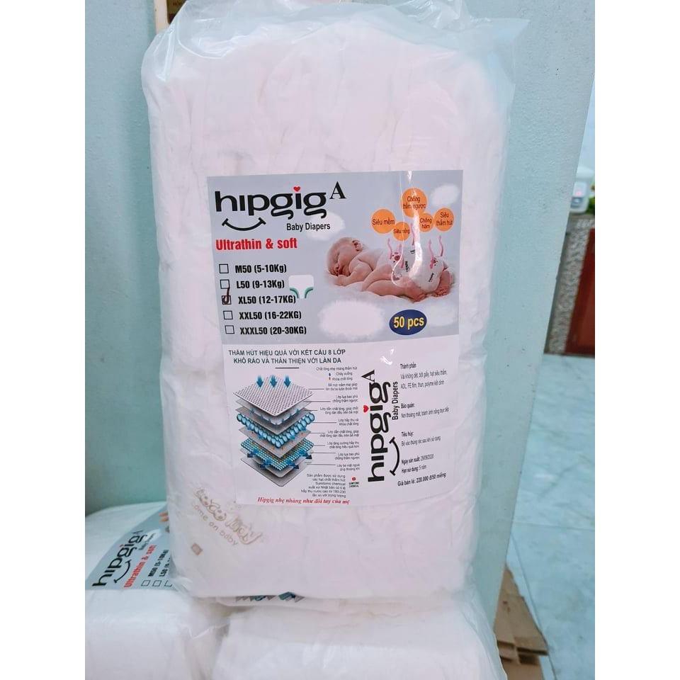 100c bỉm quần Hipgig A S100 M100 L100 XL100 XXL100 XX