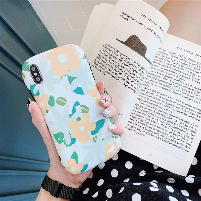 ihone case Flowers durable fashion protective shell xr/xs case ins
