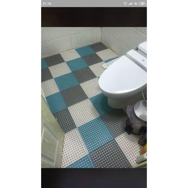 [FREE SHIP ] Thảm nhựa lỗ kháng khuẩn, thảm ghép, thảm ghép, thảm lót sàn, thảm nhà tắm chống trơn,trượt