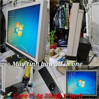 Máy tính để bàn all in one 17inch core i5 4g 250gb