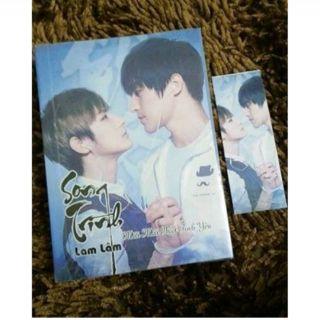 Combo 2 postcard và 1 bookmark và ficbook Song Trình Lam Lâm