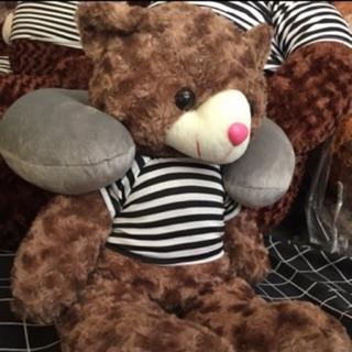 Gấu Teddy khổ vải 1m cao 80cm hàng VNXK