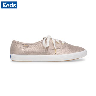 Giày Keds Nữ - Champion Glitter Suede Champagne - KD059114 thumbnail