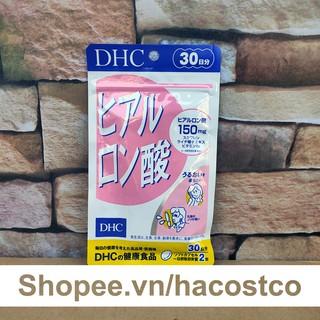 Viên uống Cấp Nước DHC Hyaluronic Acid 30 ngày dùng - 60 viên giúp giữ ẩm cho da thumbnail